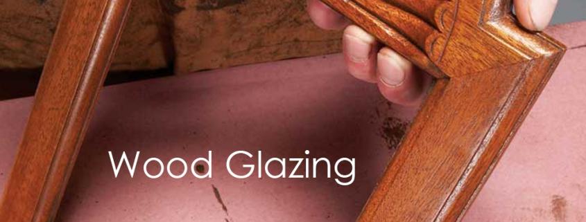 Sparko Wood Glaze application