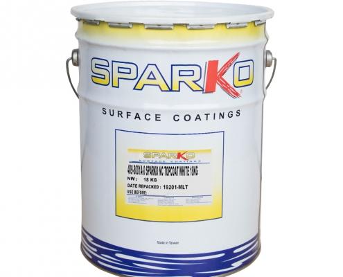 Sparko Nitrocellulose Topcoat White