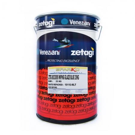 Zetagi by Sparko Wiping Glaze Blue