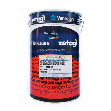 Zetagi by Sparko Acrylic Polyurethane UV Finish Topcoat