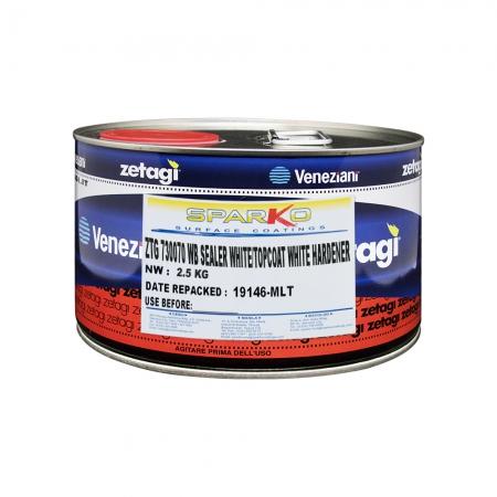 Zetagi by Sparko Waterbased Sealer Topcoat White Hardener
