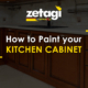 How to paint your kitchen cabinet